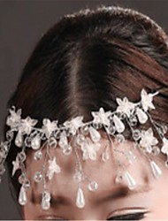Women's Crystal Headpiece-Wedding / Special Occasion Headbands 1 Piece