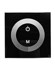 TM06 LED Touch Panel Dimmer para Cor Única LED Strip (DC12-24V, 8A 1 ​​canal de saída)