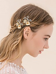Women's Rhinestone / Alloy Headpiece-Wedding / Casual Headbands / Hair Combs / Flowers / Hair Stick / Hair Tool2
