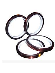 transferencia térmica especificaciones de la cinta 33m de longitud * anchura de 3 mm 4 volumen de envasado para la venta