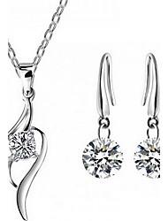 May Polly Fashion zircon crystal set