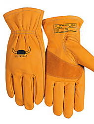 Genuine Wei Teshi Welding Gloves 10-2700 Mild Bull Wang Labor Daily Use Car Industry  Size 9 Color Orange