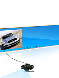 The Rearview Mirror Dual Lens 1080p HD DVR Parking Monitoring Machine