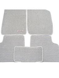 lino de gamuza alfombras de piso colchoneta especial alfombra del coche alfombrilla de coche verde
