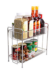 Double Lays Storage Rack for seasoningbottleshousehold products