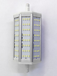 R7S 118mm 96x 3014SMD 10W Warm White / Cool White 900LM 220Beam Horizontal Plug Lights  Flood Light AC85-265V
