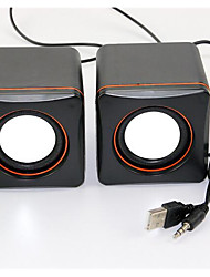 Desktop Notebook Mini Stereo Speaker PC Speaker Car Audio