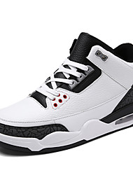 Men's Fashion Sports Shoes Plus Size EU39-47 Microfiber Sneakers Running Basketball Shoes