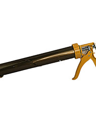 d'épaisseur en alliage d'aluminium structure de pistolet à colle (note bronze couvercle métallique poignée en métal)