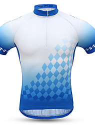 Sports Cycling Jersey with Shorts Men's Short Sleeve Bike Breathable / Quick Dry / Wearable / Comfortable Clothing Sets/Suits Terylene