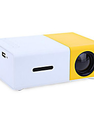 LCD HVGA (480x320) Projecteur,LED 2000 Mini Projecteur