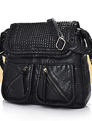 Women leatherette Casual / Outdoor / Shopping Shoulder Bag