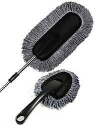 deux morceaux de cire gris brosse mis nettoyage de voiture cire glisser mis fil nano cire télescopique glisser