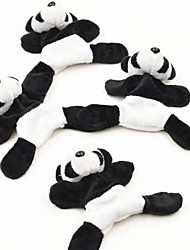 Plush Panda Fridge Magnet Sticky Cute Cartoon Panda Tourism Souvenir Gift