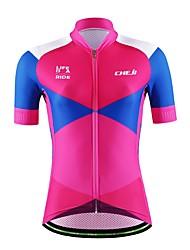 Sports Cycling Jersey Women's / Men's / Unisex Short Sleeve BikeBreathable / Quick Dry / Moisture Permeability / Back Pocket /