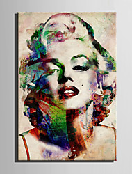 E-HOME® Stretched Canvas Art Monroe Decoration Painting  One Pcs