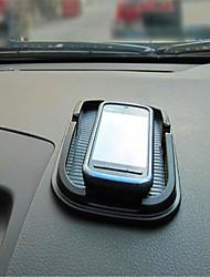 almofada anti skid para o assento telefone móvel moldura de navegação do veículo preto operadora de telefonia móvel