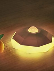 diamant capteur de l'organisme de contrôle de la lumière de la lumière la nuit a conduit usb nightlight charge pour le couloir