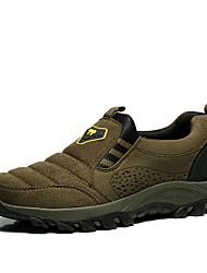 Men's Sneakers / Fall Comfort Synthetic / Cotton Outdoor Low Heel Others / Lace-up Brown / Gray / Dark Green Others