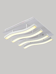 36W Flush Mount   Modern/Contemporary  for LED MetalLiving Room / Bedroom / Dining Room / Kitchen / Study Room/Office /