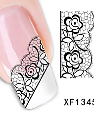 Lace Watermark Nail Polish