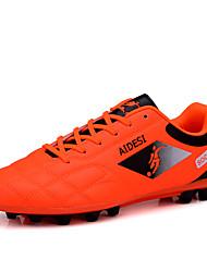 Femme-Sport-Noir / Bleu / Vert / Rouge-Talon Plat-Confort / Bout Arrondi-Chaussures d'Athlétisme-Polyuréthane