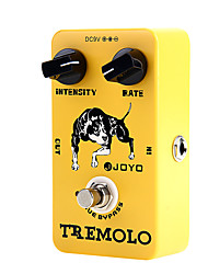 Joyo JF-09 Tremolo Electric Guitar Effect Pedal STOMPBOX True Bypass Yellow