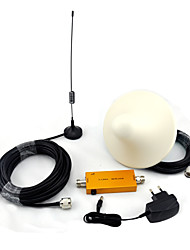 Mini W-CDMA 2100mhz Mobile Phone Signal Booster UMTS 3G Signal Repeater with Sucker Antenna / Ceiling Antenna