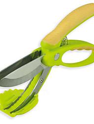 1 Gadget de Cozinha Criativa / Multi-Função Tesouras de Cozinha Aço Inoxidável Gadget de Cozinha Criativa / Multi-Função