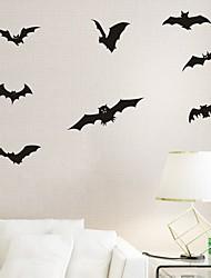 Animaux / Vacances Stickers muraux Stickers avion Stickers muraux décoratifs,PVC Matériel Amovible Décoration d'intérieur Wall Decal