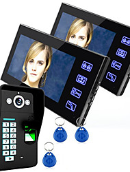 ENNIO SY816A-MJF12 7 Inch HD Remote Unlocking Video Intercom Doorbell