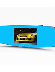двойной объектив 1080p HD 5 дюймов 140 градусов широкий угол 5.0MP вождения рекордер