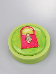 Sacs en forme de silicone fondant moule moule à gâteau silicone fondant moule outils de décoration couleur aléatoire