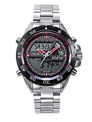 LED Digital Men Sport Watch 30M Waterproof Stainless Steel Male Wristwatch Top Brand Military Quartz Sport Watch Men