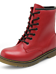 Women Leather Boots Non-slip Snow Boots
