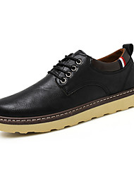 Men's Oxfords Spring / Summer / Fall / Winter Wedges / Riding Boots / Combat Boots / Round Toe LeatherWedding