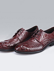 Men's Oxfords Spring / Summer / Fall / Winter Styles / Closed Toe Leather Office & Career / Party & Evening / Casual