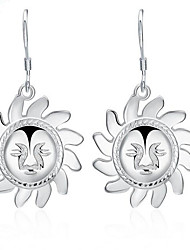 May Polly Europe and the United States and the sun smiling Earrings