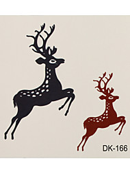 1 Tattoo Aufkleber Tier Serie deer Flash-Tattoo Temporary Tattoos