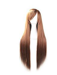 парик косплей Парики для женщин Коричневый Карнавальные парики Косплей парики