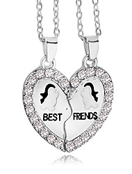 Men's Women's Couple's Pendant Necklaces Pendants Necklace Jewelry AlloyMagnetic Therapy Religious Jewelry Double Sided Euramerican