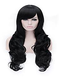 parrucca Cosplay Parrucche per le donne Nero costumi parrucche Parrucche Cosplay