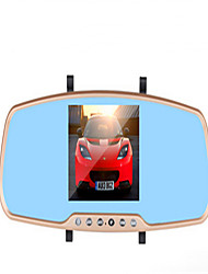 Drive Recorder Rear View Mirror HD Circulation Video Wide Angle Parking Monitoring Gravity Induction Single Record