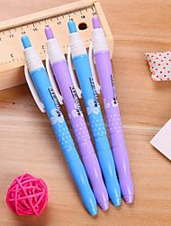 prima tipo de padrão trevo de caneta gel tinta azul