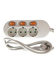 Feng Sen And PSM-CS0310A Intelligent Multi-Function Wiring Socket EU Regulations Home 3 Socket