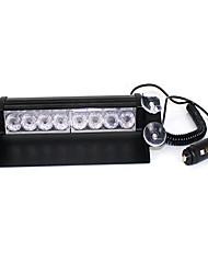 lâmpada pá bloco s2 frente de flash explosão de alta potência luminosa relâmpago 8LED luzes de advertência do carro carro