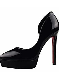 Women's Heels Summer Heels PU Casual Stiletto Heel Others Black / Purple / Red / Gray / Fuchsia / Almond Others