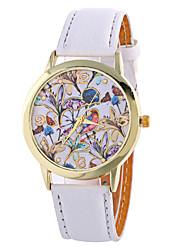 Fashion Girl Quartz Watch Clock Women Leather Casual Dress Women's Flower Wristwatch Hot Cool Watches Unique Watches