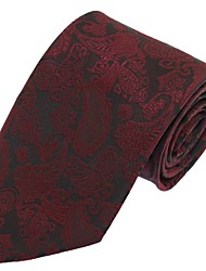 Classic Men Wedding Party Casual Necktie Polyester Silk Tie