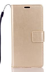 Pour Coque Sony / Xperia Z5 / Xperia Z3 Porte Carte / Portefeuille / Avec Support / Clapet Coque Coque Intégrale Coque Couleur Pleine Dur